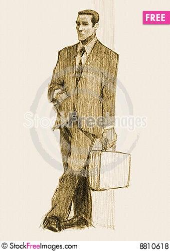Free Businessman Royalty Free Stock Photos - 8810618