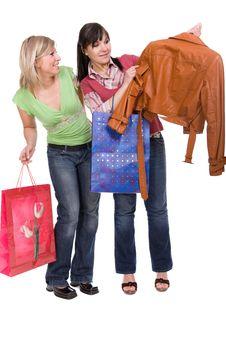 Free Shopaholics Stock Photography - 8810172