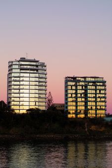 Free Twilight Highrise Stock Images - 8810334