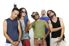 Free Diverse Group Of Male Friends Stock Photos - 8810423