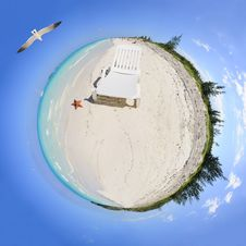 Free Your Own Personal Paradise Royalty Free Stock Image - 8810756