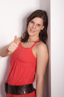 Free Sexy Thumb Up! Royalty Free Stock Image - 8811116