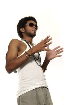 Free Trendy Latino Man Stock Photography - 8811152