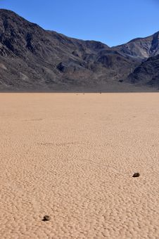 Free Racetrack Playa Royalty Free Stock Image - 8811186