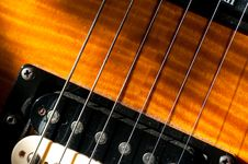 Free Guitar Strings Stock Image - 8811511