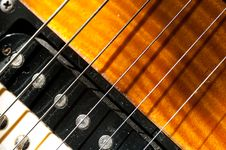 Free Guitar Strings Royalty Free Stock Image - 8811566