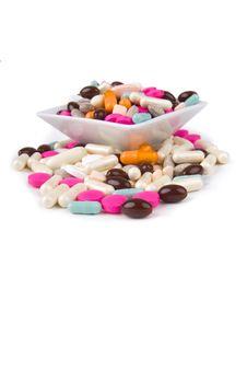 Free Pills Royalty Free Stock Image - 8811886