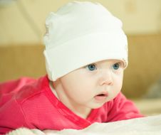 Free Baby In Hat Stock Images - 8811984