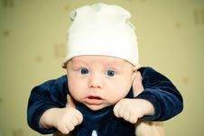 Free Baby In Hat Stock Images - 8812214