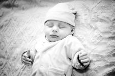 Free Baby Sleeps Royalty Free Stock Image - 8812486