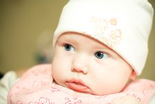 Free Baby In Hat Stock Images - 8812514