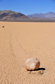 Free Racetrack Playa Royalty Free Stock Photography - 8812547