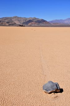 Free Racetrack Playa Royalty Free Stock Image - 8812886