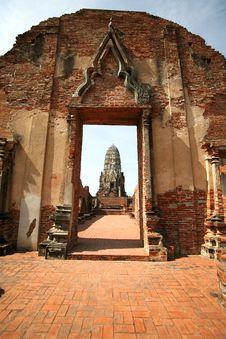 Ruins Of Ayutthaya Stock Photo