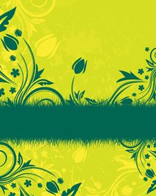Free Abstract Floral Background Royalty Free Stock Images - 8813699