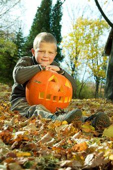 Halloween Boy Stock Images