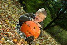 Halloween Boy Stock Image
