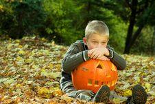 Halloween Boy Stock Photos