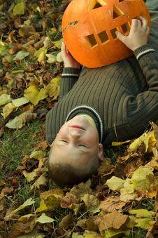 Free Halloween Boy Stock Image - 8814791