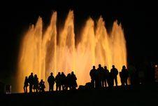Free Fountain Barcelona Stock Image - 8814881