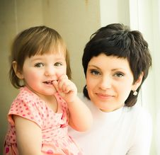 Free Mother With Daughter Stock Image - 8814911