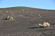 Volcanic Desert Royalty Free Stock Photo