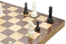 Free Corner Of Chessboard Stock Images - 8815124