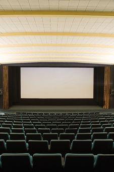 Free Cinema Interior Royalty Free Stock Image - 8815196