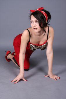 Free Seductive Woman Stock Photo - 8817290