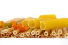 Free Colorful Noodles Frame In Soft Focus Stock Photo - 8817520
