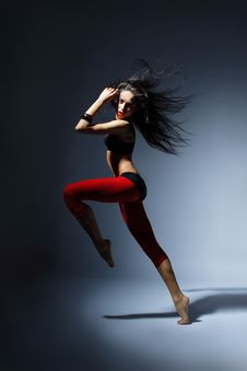 Free The Dancer Stock Photography - 8819832