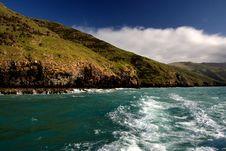 Free Akaroa Harbour NZ. Stock Images - 88100704
