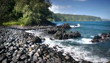 Free Keanae Road To Hana. Maui. Royalty Free Stock Photography - 88100807