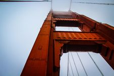 Free Bottom View Of Golden Gate Bridge Stock Images - 88101684