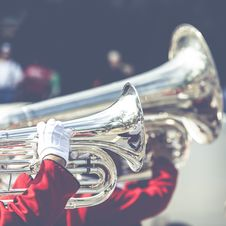 Free Horns In Marching Band Royalty Free Stock Photos - 88104228