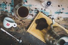 Free Coffee Making Equipment Royalty Free Stock Image - 88104406