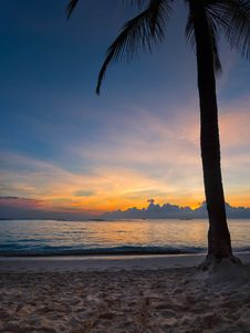 Free Sunrise, Punta Cana, Dominican Republic Royalty Free Stock Images - 88187979