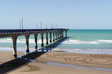 Free New Brighton Pier. Christchurch NZ. Royalty Free Stock Photos - 88188528