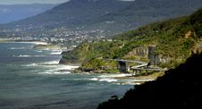 Free The Sea Cliff Bridge.    Clifton. NSW Royalty Free Stock Photos - 88189408