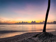 Free Punta Cana Sunrise Stock Photography - 88191652