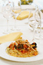 Free Pasta With Seafood Stock Image - 8820311