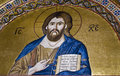Free Jesus Christ, 11th Century Mosaic. Stock Photography - 8824912