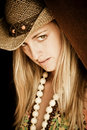 Free Woman With Hat Royalty Free Stock Photo - 8826535