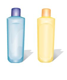 Free Plastic Bottles 2 Royalty Free Stock Photography - 8820007