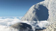 Free Mountain At The Skyline Stock Photos - 8820453