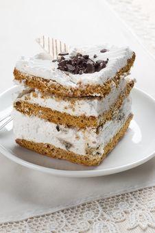 Free Close-up Big Tasty Piece Of Cake Stock Photos - 8820603