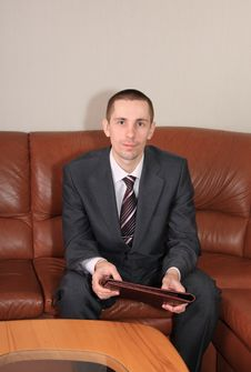 Free Businessman. Stock Image - 8821441