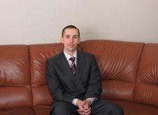Free Businessman. Royalty Free Stock Photos - 8821448