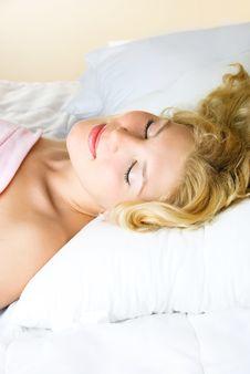 Free Beautiful Sleeping Girl Stock Photo - 8821900