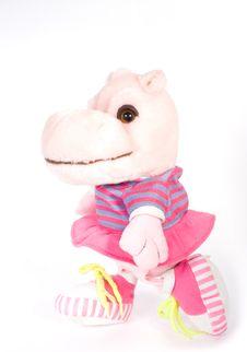 Toy Hippopotamus Stock Photos